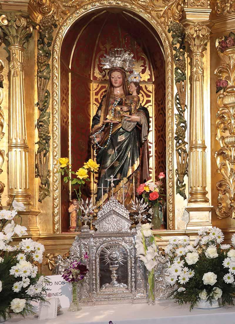Sagrario de la parroquia de Palomares del Río.
