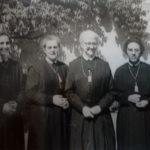 Año 1954: De izda. a dcha.: 1954 M. Ascensión, M. Piedad, M. Concepción y M. Julia